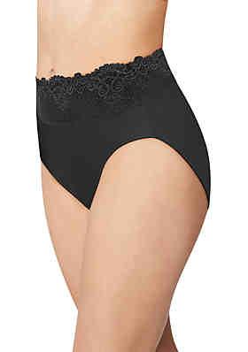 c940a3f0b Bali® Passion for Comfort Lace Hi Cut Panty ...