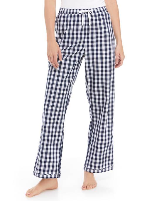 Crown & Ivy™ Check Woven Pajama Pants