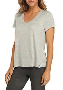 Short Sleeve Pocket Top