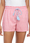 Smocked Gingham Boxers