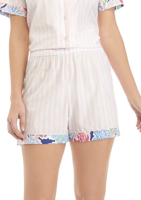Crown & Ivy™ Womens Woven Sleep Shorts