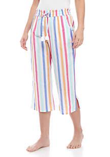 Crown & Ivy™ Smocked Capri Sleep Pants