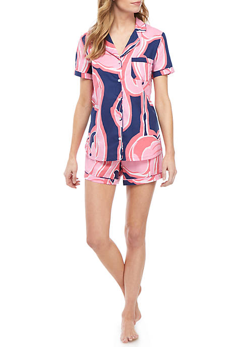 Notch Shortie Pajama Set