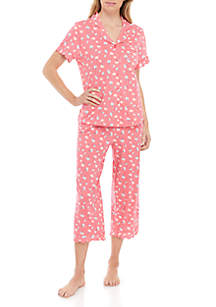 Crown & Ivy™ Scalloped Notch Pajama Set