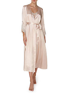 Charmeuse Long Robe