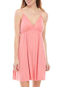 Kaari Blue™ Lace Chemise Sleeveless Pajama Dress