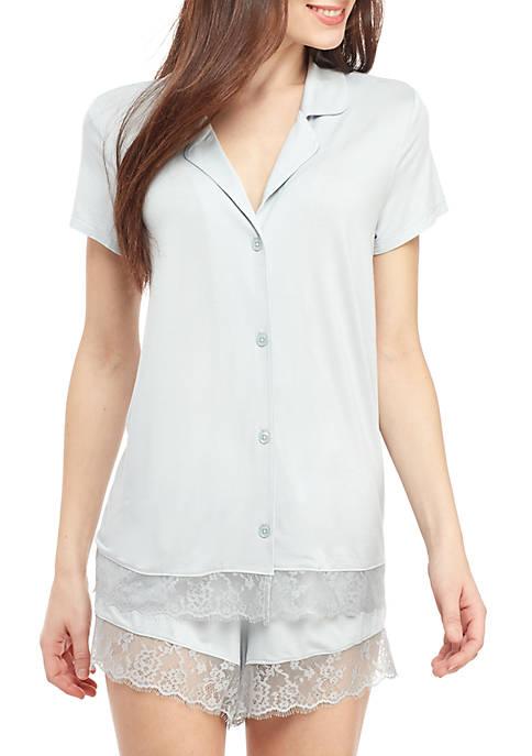 Kaari Blue™ Notch Shortie Pajama Set