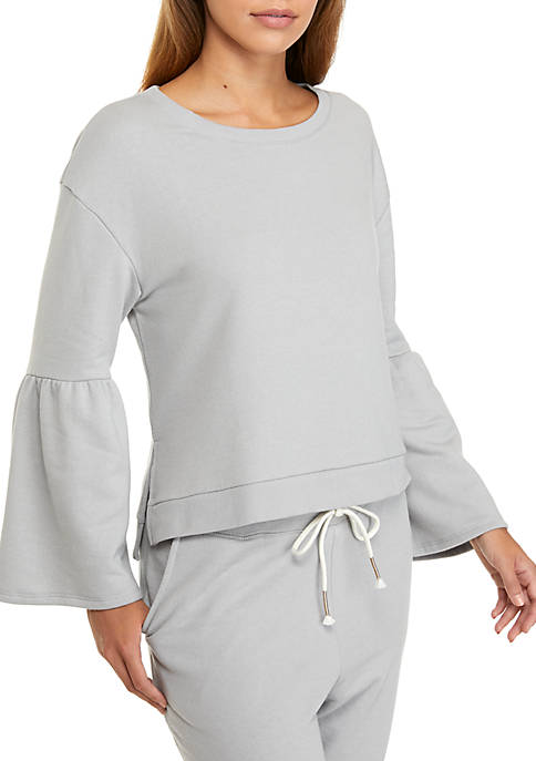 Kaari Blue™ Bell Sleeve Sleep Sweatshirt