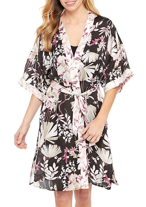 Kaari Blue™ Midi Sleep Kimono