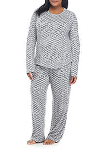 New Directions® 2-Piece Hacci Lounge Set