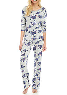 New Directions® Intimates Hacci Pajama Set