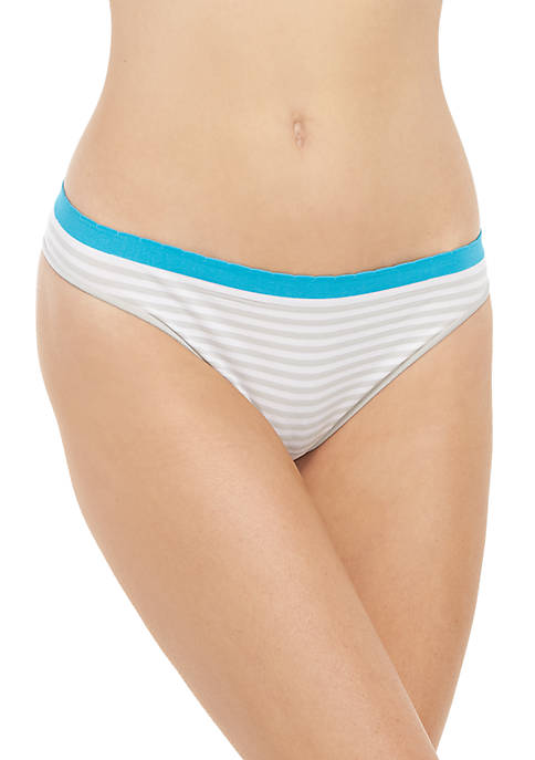 Crown & Ivy™ Solid Seamless Thong