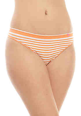 06f1384da34c Crown & Ivy™ Stripe Seamless Thong ...