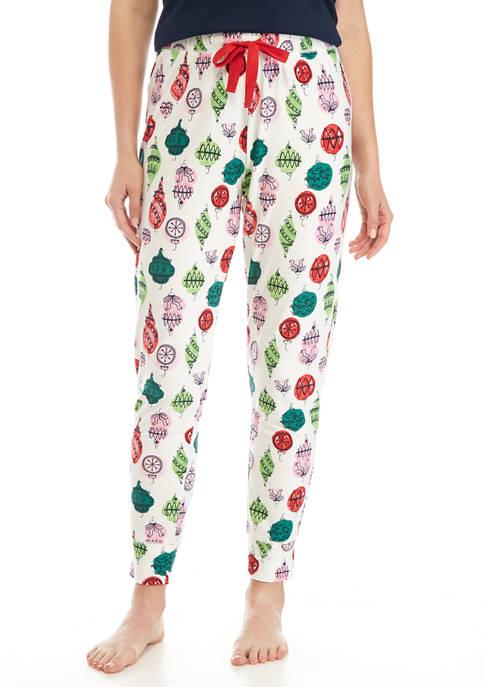 Crown & Ivy™ Yummy Printed Jogger Pajama Pants