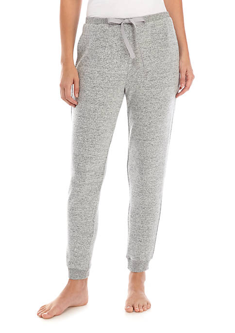 New Directions® Cozy Marled Hacci Knit Pajama Joggers