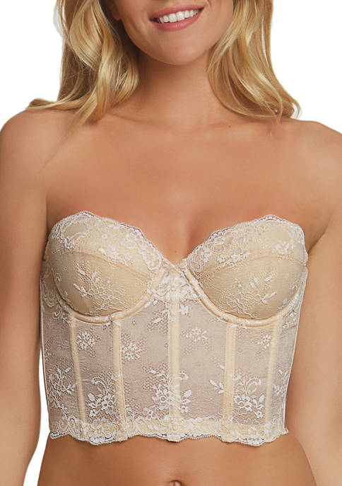 Dominique Tayler Lace Backless Strapless Bra
