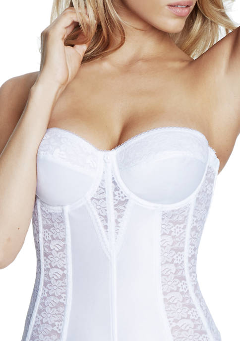 Dominique Colette Lace Corset Strapless Bra