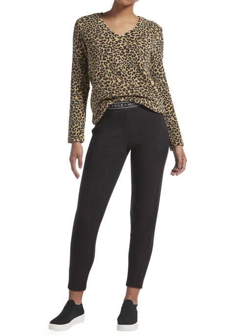 Cheetah Top and Leggings Set