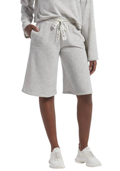Solid Boyfriend Shorts