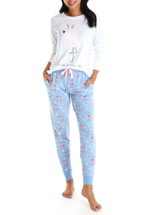Roudelain 2 Piece Whisper Luxe Holiday Pajamas