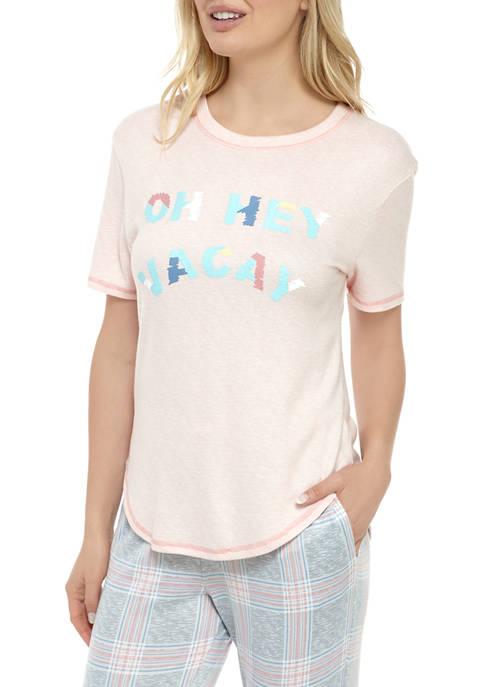 Roudelain Whisper Puff Print Pajama Top