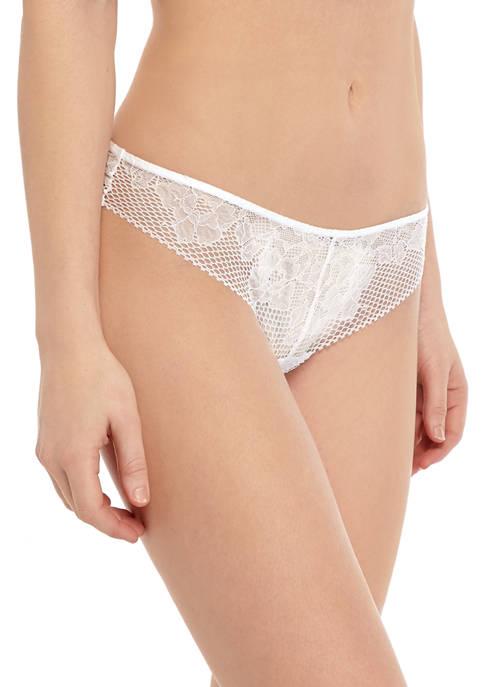 Soft Tech Lace Thong