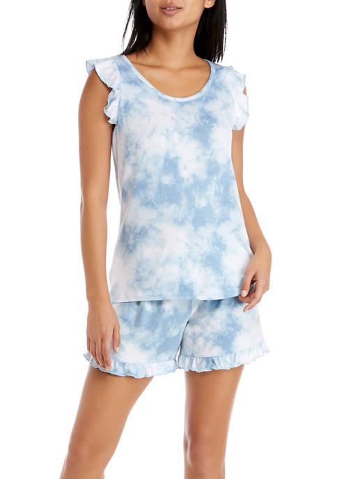 PJ Couture Hacci Clouds Pajama Set