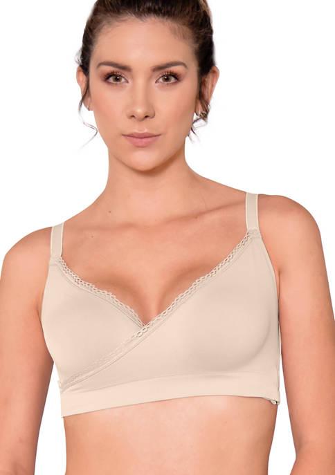 Annette Pima Cotton Criss Cross Bralette Top