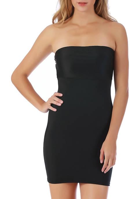 InstantFigure Strapless Hi-Waist Dress