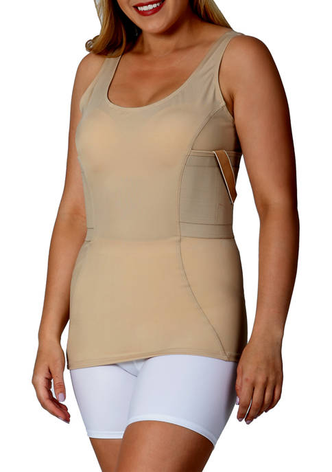 Tactical Scoop Neck Top
