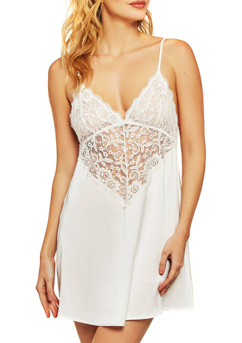 iCollection Elissa Breezy Lace Chemise