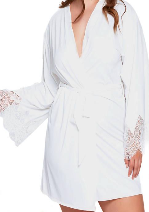 Plus Size Arlene Lace Bridal Robe