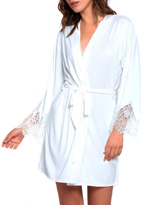 iCollection Arlene Lace Bridal Robe