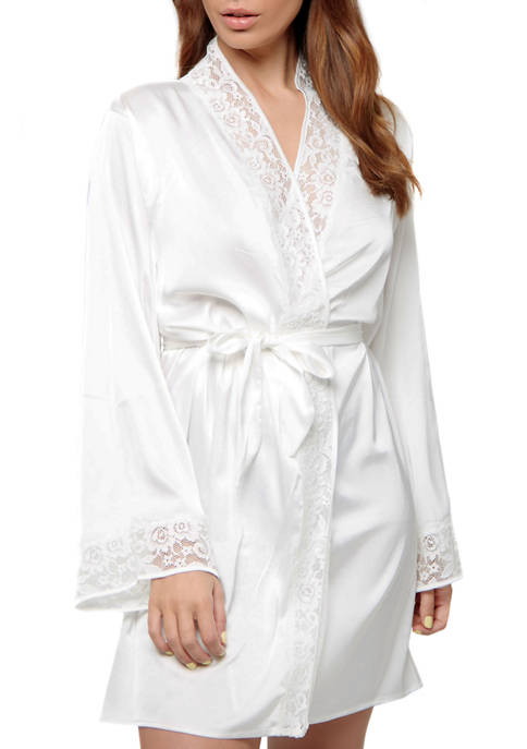 iCollection Elissa Lace Bridal Robe
