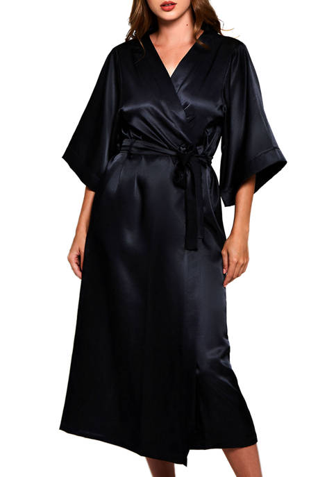 Satin Long Robe