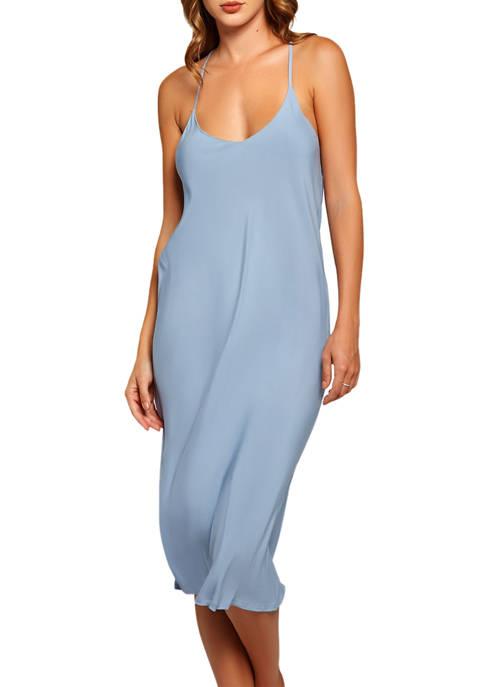 iCollection Trina Soft Wash Rayon Sleeveless Dress
