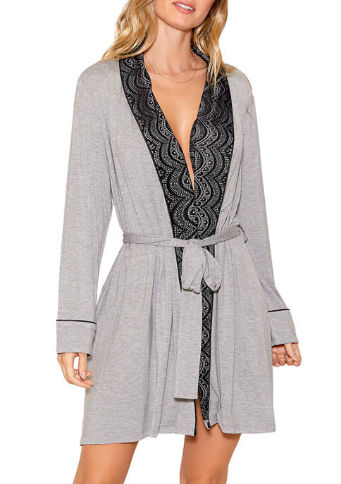 Shana Modal Shawl Lace Robe