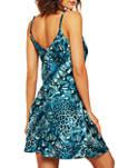Jada Leopard Satin Chemise Dress