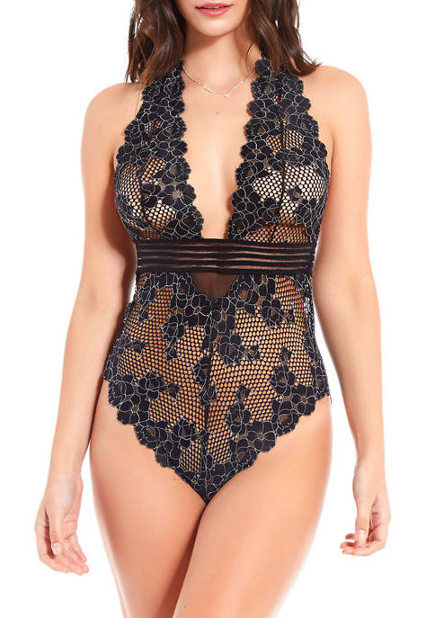 iCollection Chloe Lace Bodysuit