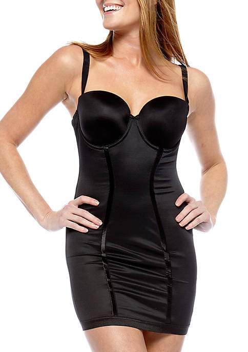 Easy-Up Strapless Full Slip - 2304