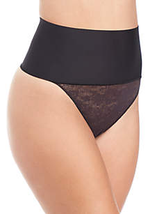 Maidenform® Tame Your Tummy Lace Thong