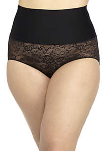 Tailored & Lace Brief Panty