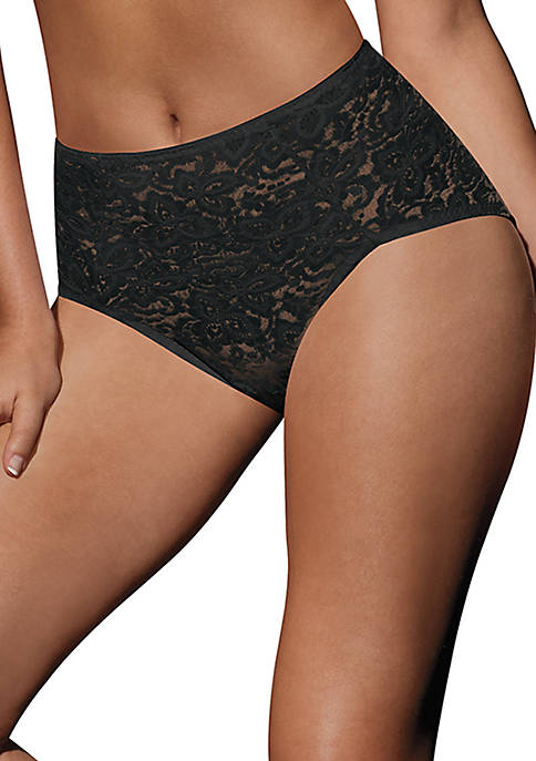 Lace N Smooth Briefs - 8L14