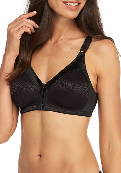 Bali® Double Support Front Closure Wire-free Bra