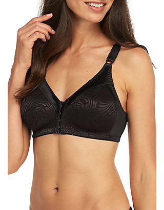 65278fc8fc5 Bali® Double Support Front Closure Wire-free Bra - DF1003