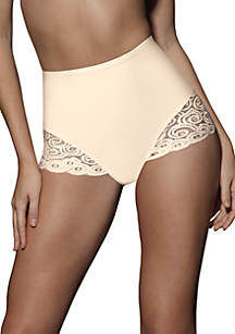 2-Pack Firm Control Brief With Lace X054