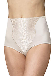 2-Pack Light Control Brief With Lace Tummy X372