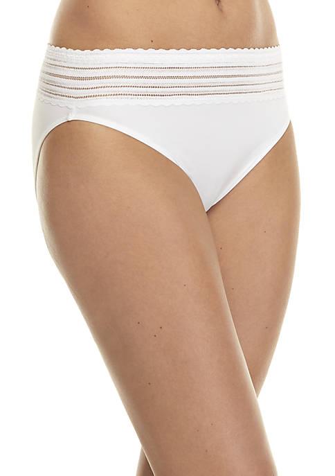 No Pinching No Problems Lace Hi-Cut Panty – 5109J