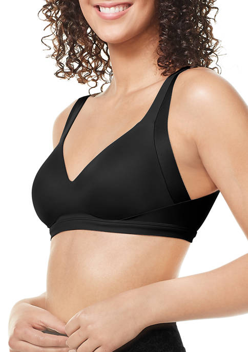 No Side Effects® Wire-Free Back Smoothing Contour with Easy Size Bra - RA2231A