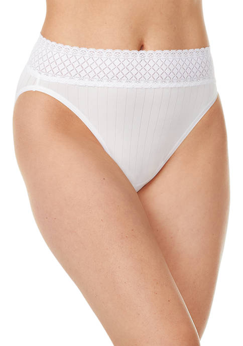 No Pinching. No Problems.® Hi-Cut Pantes with Lace RT2241P